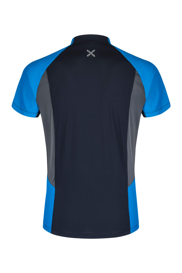 OUTDOOR PERFORM ZIP T-SHIRT