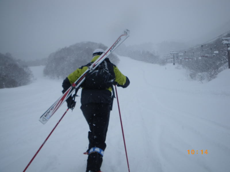 小川壮太選手 山岳スキー競技 練...